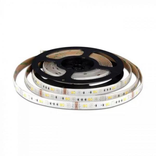 ΚΙΤ-Έξυπνη ταινία LED 4W/M 5 μέτρα IP65 RGB+W με χειριστήριο RF και τροφοδοτικο με συμβατότητα με Amazon Alexa & Google Home ΈΞΥΠΝΟ ΣΠΙΤΙ