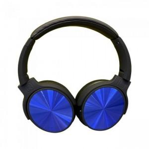 Ακουστικα- Bluetooth ασύρματα ακουστικά, σε μπλε χρώμα – 500mah με rotatable head GADGETS