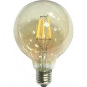 Λαμπτηρες - Led - LED ΡΥΘΜΙΖΟΜΕΝΟ ΛΕΥΚΟ G125-9W-E27 VINTAGE LED - DECORATIVE