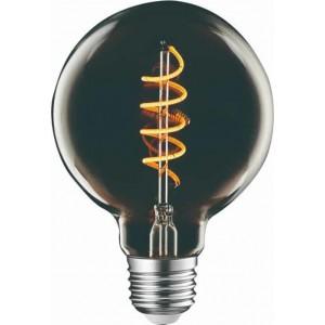 Λαμπτηρες - Led - SMOKEY TITANIUM FILAMENT G95-4W-E27-2200K VINTAGE LED - DECORATIVE