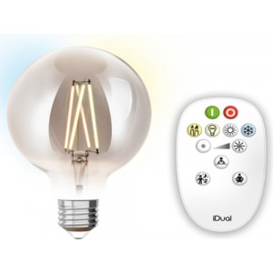 Λαμπτηρες - Led - LED FILAMENT ΜΕ ΧΕΙΡΙΣΤΗΡΙΟ G95-9W-E27 VINTAGE LED - DECORATIVE