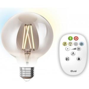 Λαμπτηρες - Led - LED FILAMENT ΜΕ ΧΕΙΡΙΣΤΗΡΙΟ G125-9W-E27 VINTAGE LED - DECORATIVE