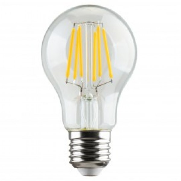 Λαμπτηρες - Led - FILAMENT A60-6W-E27-3000K VINTAGE LED - DECORATIVE
