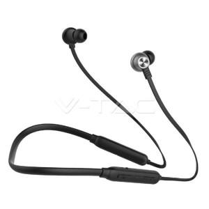 Ακουστικό Bluetooth για κινητά τηλέφωνα με καλώδιο μαύρο GADGETS