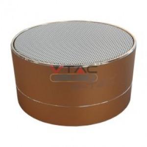Ηχειο- Mini ηχείο φορητό Bluetooth χρυσό 400mAh GADGETS