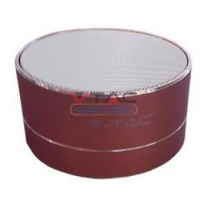 Ηχειο- Mini ηχείο φορητό Bluetooth ροζ χαλκός 400mAh GADGETS