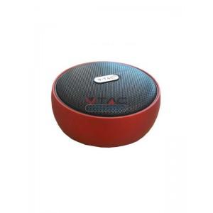 Ηχειο- Ηχείο φορητό Bluetooth κόκκινο 800mAh GADGETS