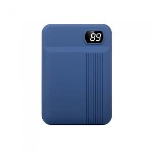 Power Bank 10000mAh με οθόνη και μπλε σώμα με 2 θύρες GADGETS