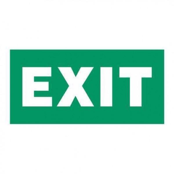 ΑΥΤΟΚΟΛΛΗΤΑ ''EXIT'' & ''WC'' ΦΩΤΙΣΜΟΣ ΑΣΦΑΛΕΙΑΣ
