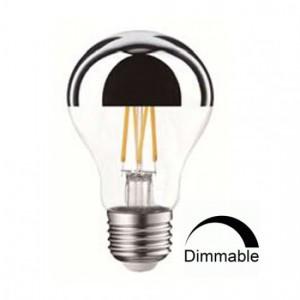 Λαμπτηρες - Led - ΑΝΕΣΤΡΑΜΜΕΝΟΥ ΚΑΘΡΕΠΤΟΥ A60-7W-E27-2700K VINTAGE LED - DECORATIVE