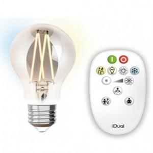 Λαμπτηρες - Led - LED FILAMENT ΜΕ ΧΕΙΡΙΣΤΗΡΙΟ A60-9W-E27 VINTAGE LED - DECORATIVE