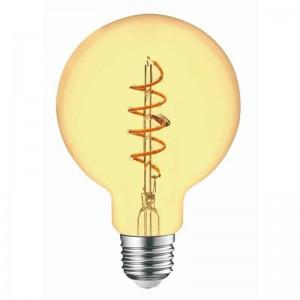 Λαμπτηρες - Led - GOLDEN  FILAMENT G95-4W-E27-2200K VINTAGE LED - DECORATIVE