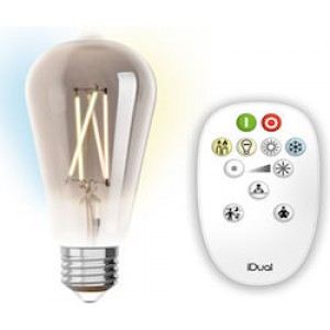 Λαμπτηρες - Led - LED FILAMENT ΜΕ ΧΕΙΡΙΣΤΗΡΙΟ ST64-9W-E27 VINTAGE LED - DECORATIVE