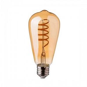 Λαμπτηρες - Led - ΜΕΛΙ FILAMENT ST64-4W-E27-2200K VINTAGE LED - DECORATIVE